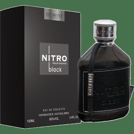dumont nitro black uomo eau de toilette